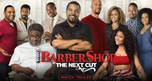 New Movie Trailer: Barbershop: The Next Cut (Starring Ice Cube, Nicki Minaj, And Tyga)