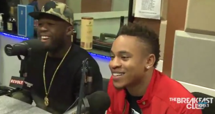 New Interview Video: 50 Cent & Rotimi Talks With The Breakfast Club Power 105.1
