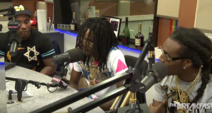 New Interview Video: Migos Talks With The Breakfast Club