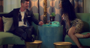 New Video: Robin Thicke Ft. Nicki Minaj – Back Together